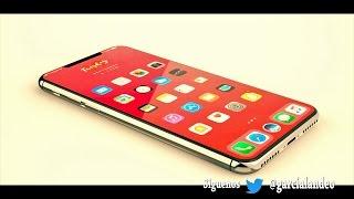 Nuevo Iphone X Diseño Final. Espionaje Tecnologico