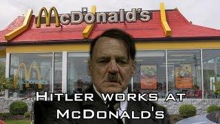 Hitler works at McDonald