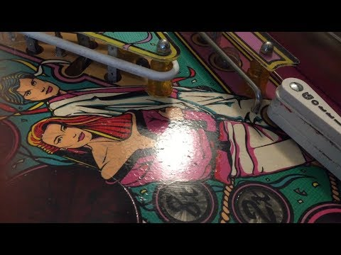 Pinball Playfield Damaged Caused by Flipper Rubbers