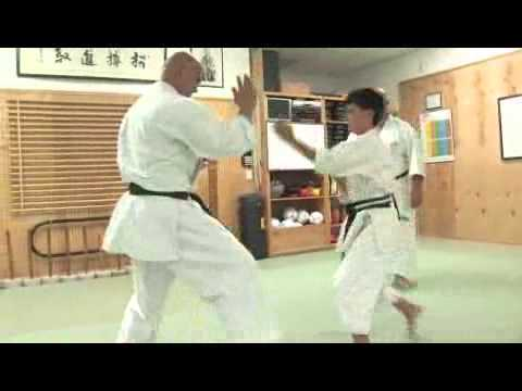 Sparring for Youth in Okinawan Karate