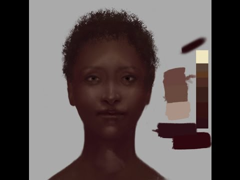 Critique Hour! How to paint dark/African Skin