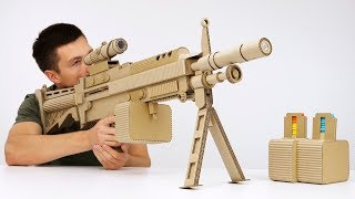 Download How to Make Highly Detailed Cardboard Gun Video