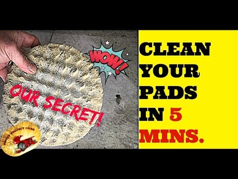 OUR SECRET Way to Wash BUFFING Pads & POLISHING Bonnets