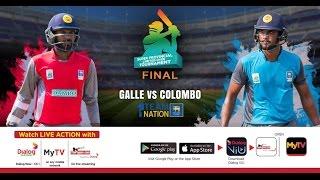 Final - Colombo vs Galle - SLC Super Provincial Limited Over 2017