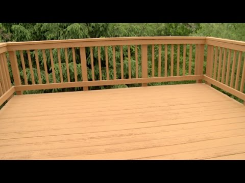 How To Resurface A Deck