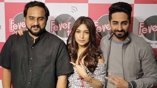 Ayushmann Khurrana & Bhumi Pednekar Promotes KANHA Song From Shubh Mangal Savdhan At Fever 104 FM