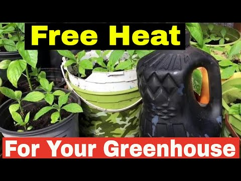 How to heat your greenhouse for free