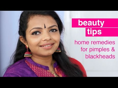Home remedies for pimples and black heads