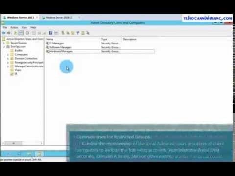 Restricted Groups GP Deploy Software using GPSI on Windows Server 2012 (Step   By   Step)