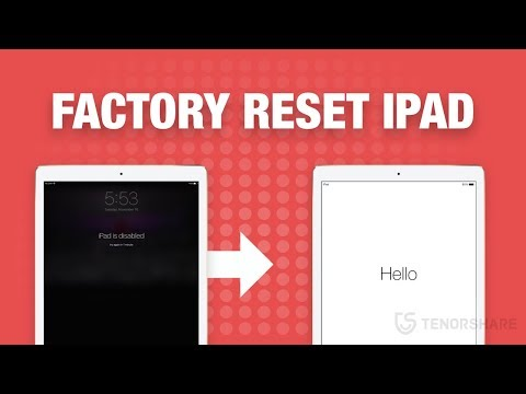 How to Factory Reset iPad Pro/Mini/2/1 Without Password/iTunes? 1 Click