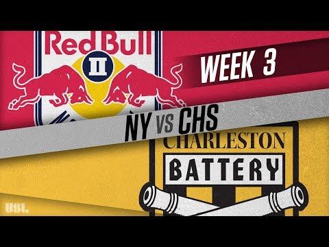 New York Red Bulls II vs Charleston Battery: March 31, 2018