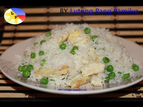 How to make Fried Rice or Sinangag