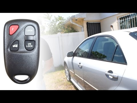 How To Program a 2003 Mazda 6 Key Remote