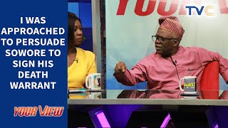 How Government Wanted Me To Persuade Sowore To Sign His Death Warrant - Femi Falana (Part 2)