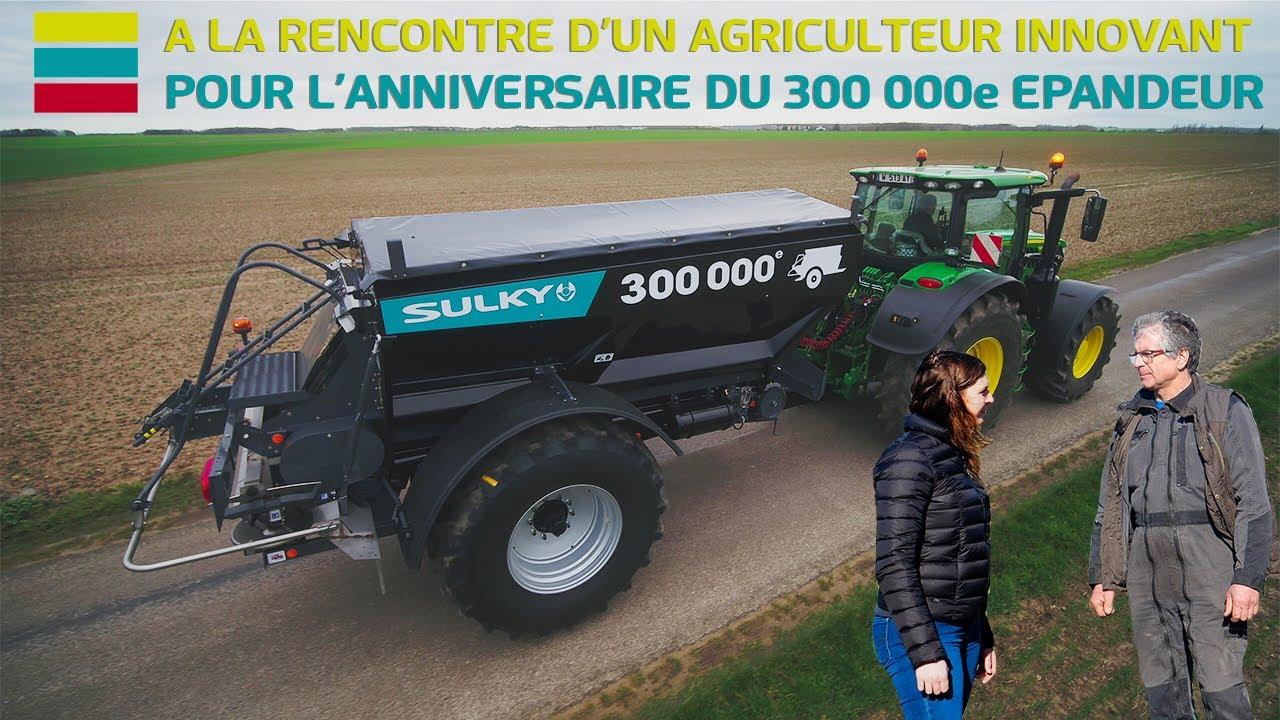 S2 - E8 : A LA RENCONTRE D'UN AGRICULTEUR INNOVANT POUR L'ANNIVERSAIRE DU 300 000e EPANDEUR