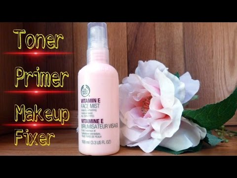 Vitamin E Face Mist for All Skin Types | The Body Shop Vit E face mist Review | Tanya Says