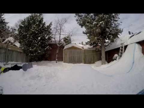 Backyard Snow Jump