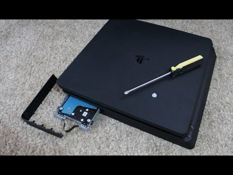 Tutorial: How to Change PS4 Slim Hard Drive and Install System Software