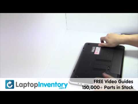 HP Pavilion DM4 Battery Replacement - Disassembly Take Apart DM4-1000 DM4-3000