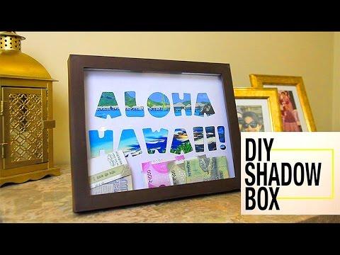 Shadow box | Money box | How to make a shadow box| Shadow box frame : DIYIndian