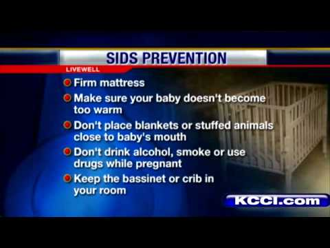 Live Well: Steps To Help Prevent SIDS