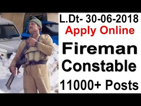 Fireman & Constable Bharti 2018 Apply Online All India Female | Male Bihar Police Recruitment 2018