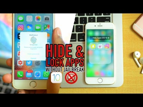How to Lock & Hide Apps on iOS 10: Applock without Jailbreak!