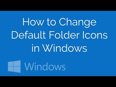 How to Change Default Folder Icons in Windows 8, 8.1 / 10