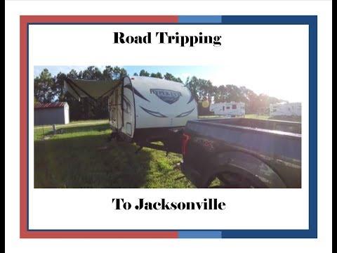 RV LIfe Trip - Heading to Jacksonville, FL