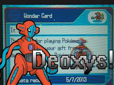 Pokemon Black 2/White 2: Deoxys Event!