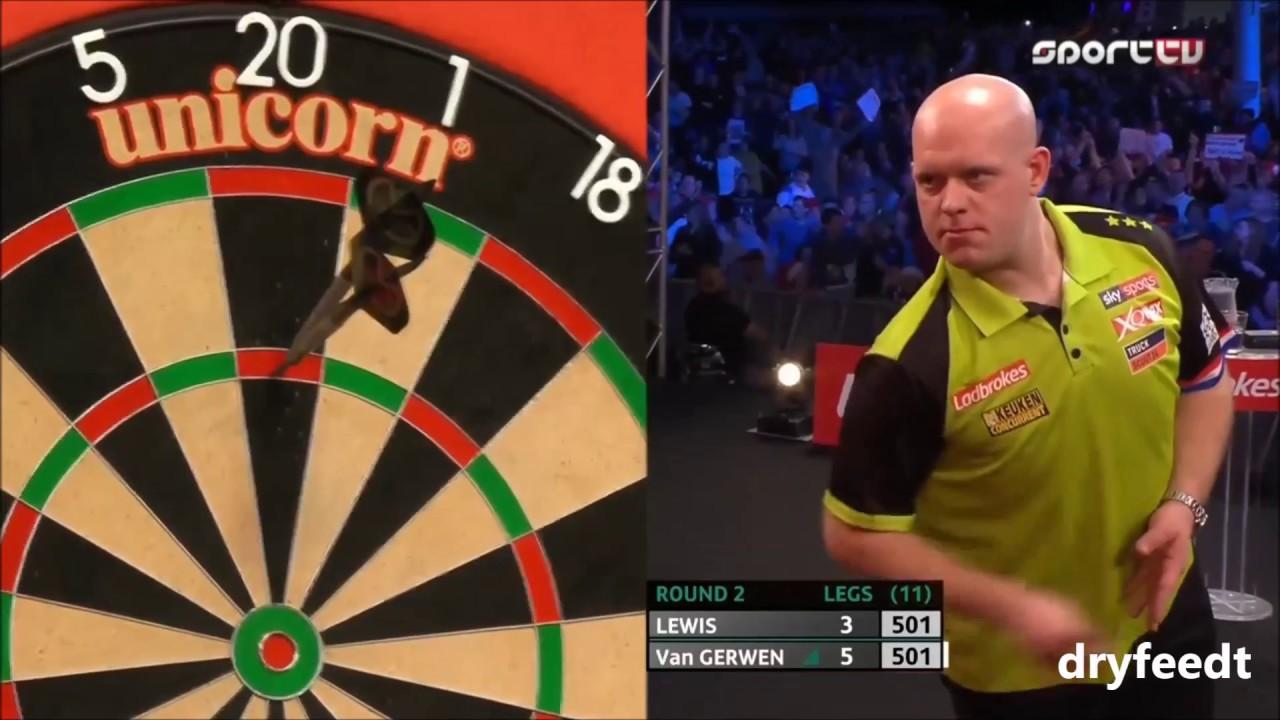 Michael van Gerwen 9 nyilas dobása - Players Championship Finals - 2019.11.23.