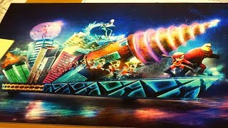 """""""The Incredibles"""" Paint the Night Parade float: details revealed by Imagineers at Disneyland Resort"""