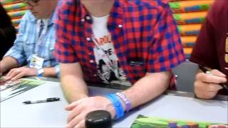 Tom Kenny is AWESOME ! (Spongebob) Comic Con 2013