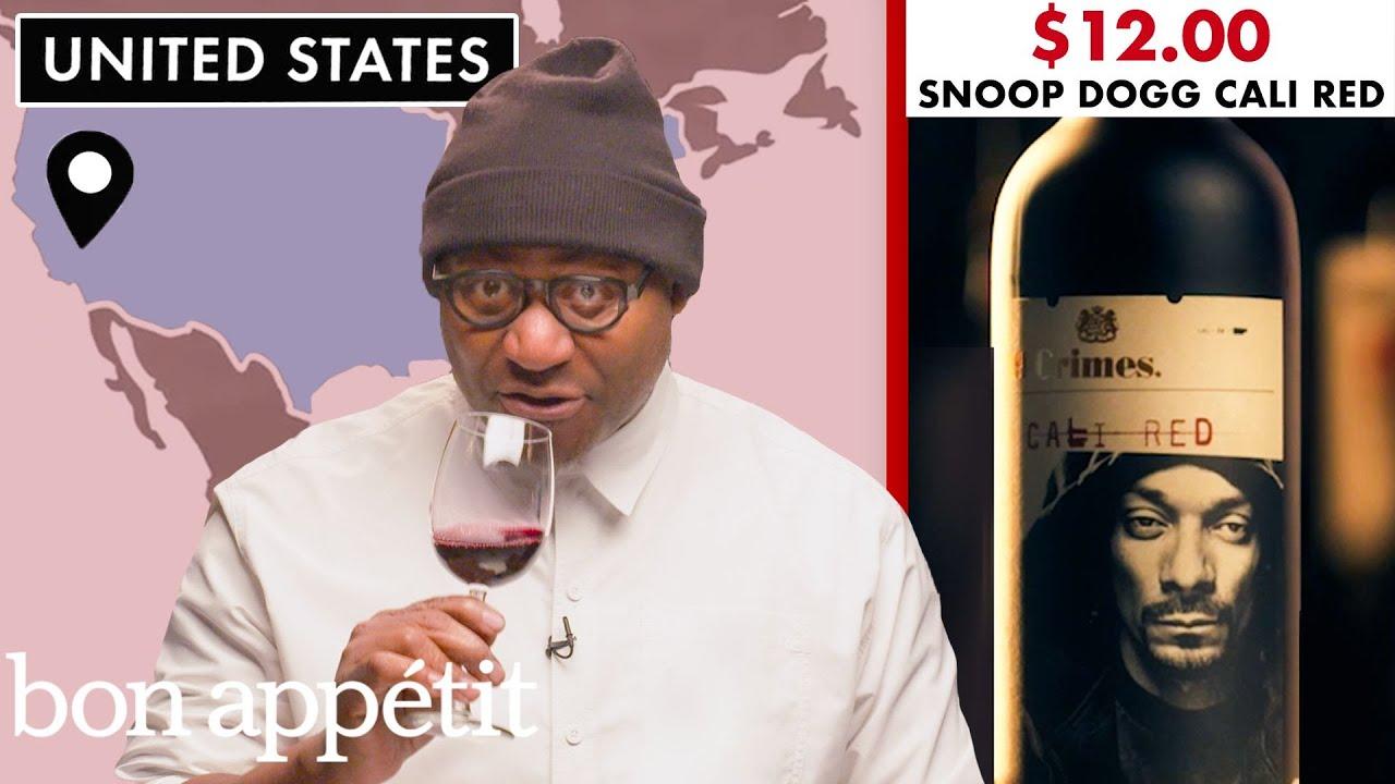 Sommelier Tries 20 Red Wines Under $15 | Bon Appétit