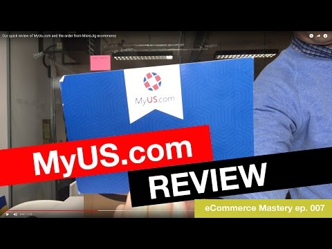 MyUs.com review, eCommerce shipping from the US to the UK and the order from MicroJig