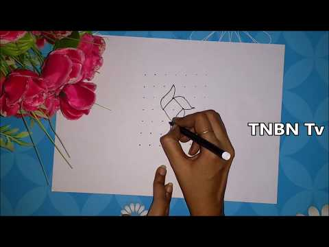 simple rangoli designs for beginners | rangavallikalu designs with dots | creative rangoli designs