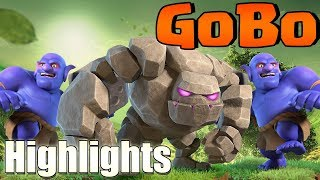 GOBO!  10v11 MASTER ATTACK!  Th10 Farm to Max STREAM HIGHLIGHTS | Clash of Clans