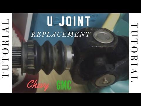 driveshaft u-joint replacement chevy gmc silverado sierra
