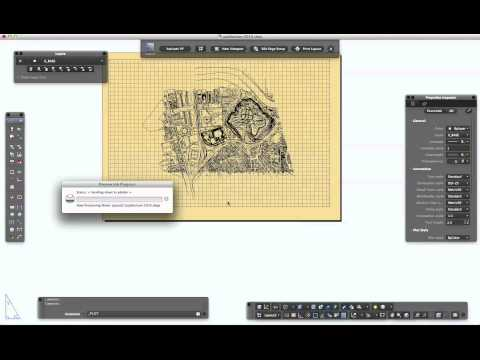 How to create Hi Res PDF in AutoCAD for Mac