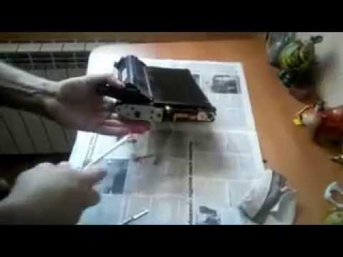 Samsung CLP-310/315/320/325 how to remove transfer-belt