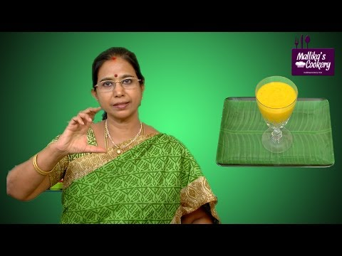 Mango Millet Smoothie    Mallika Badrinath   Healthy Juice Recipes