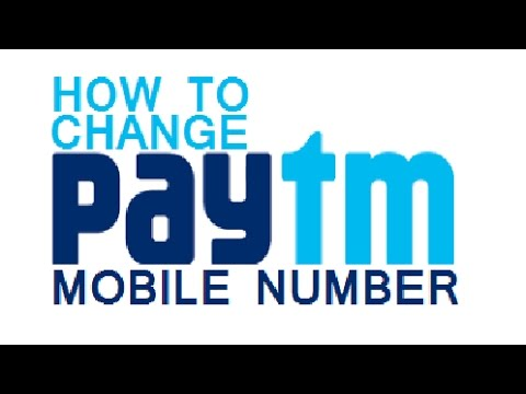 🔴 How to Change your PayTM Registered Mobile Number 🔴