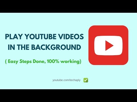 Play YouTube in background | Listen to YouTube with Screen Off on Android