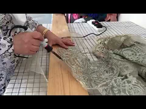 Trim embroidery