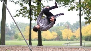 Learning The Backflip 180 In One Hour