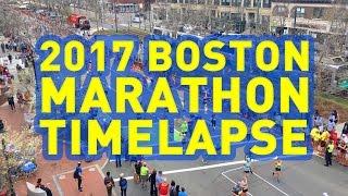 Mile 23 Boston Marathon Timelapse