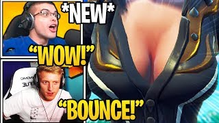 Download Streamers React To *NEW* ″BOUNCE″ Feature in Fortnite (Game Physics) Video