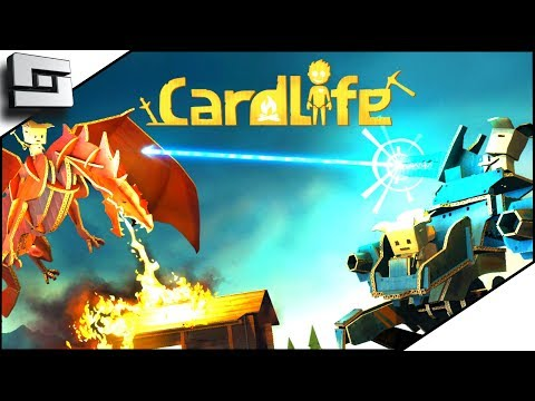 Card Life - Everything is Cardboard! New Survival Game!