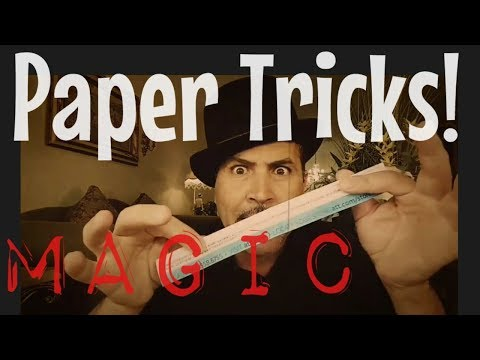 2 Really Cool PAPER TRICKS...!