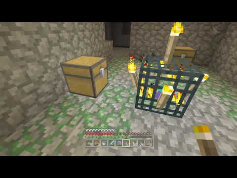 Minecraft Xbox one Survival: Lets Play Episode 172 - Cave Week Diamonds